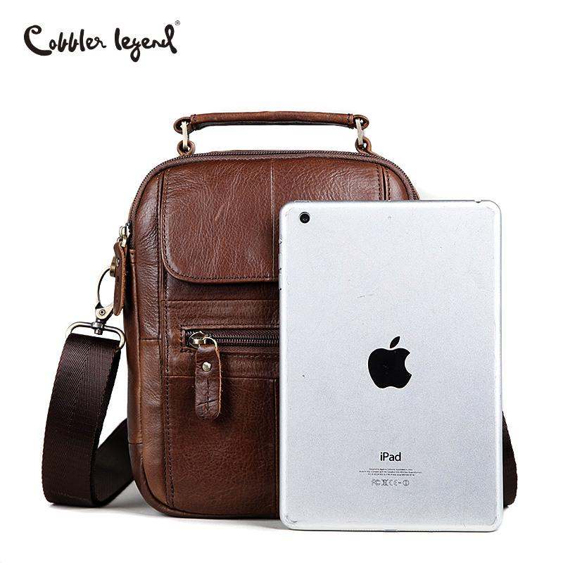 f560f1316990 Cobbler Legend Men Messenger Bags Genuine Leather Handbag Famous Bag  Shoulder Brand Business-buy at a low prices on Joom e-commerce platform