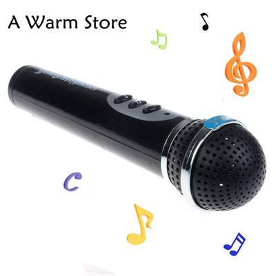 Musik & Instrumente Mikrofon Geschenk Geburtstagsgeschenk lustig Singen Wireless Mic Voice Changer