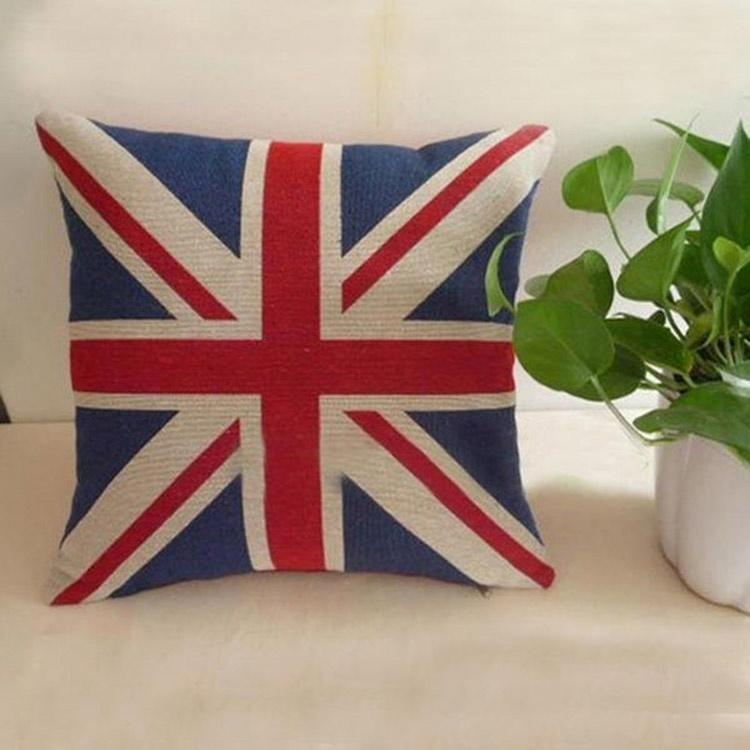 Sale Vintage Union Jack Seat Pad Cushion Kitchen Garden