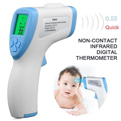 Contactless Thermometer Digital Infrared Forehead Thermometer LCD IR Thermometer Handheld Non-contact IR Infrared