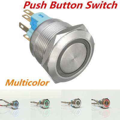 1pc round lit illuminated arcade video game push button switch LED light lamp B9