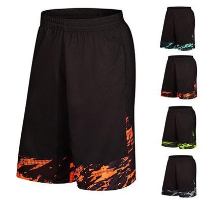 Mens Workout Summer Breathable Linen/&Cotton Shorts Beach Trousers