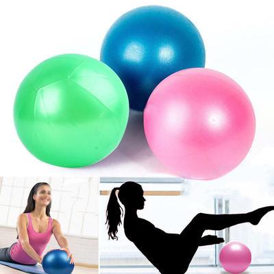 49a9ece58cb0 1 pc Йога упражнения мяч тренажерный зал пилатес баланс осуществляет  воздушный насос фитнес анти Взрыв