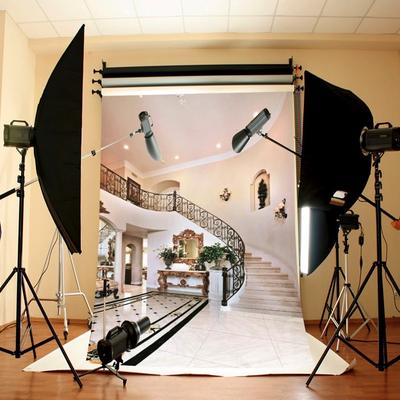 Zhy Madrid Spain Backdrop for Photography 7x5ft 2.1x1.5m Urban Construction Background Party Decor Supplies Photo Shooting Props 165