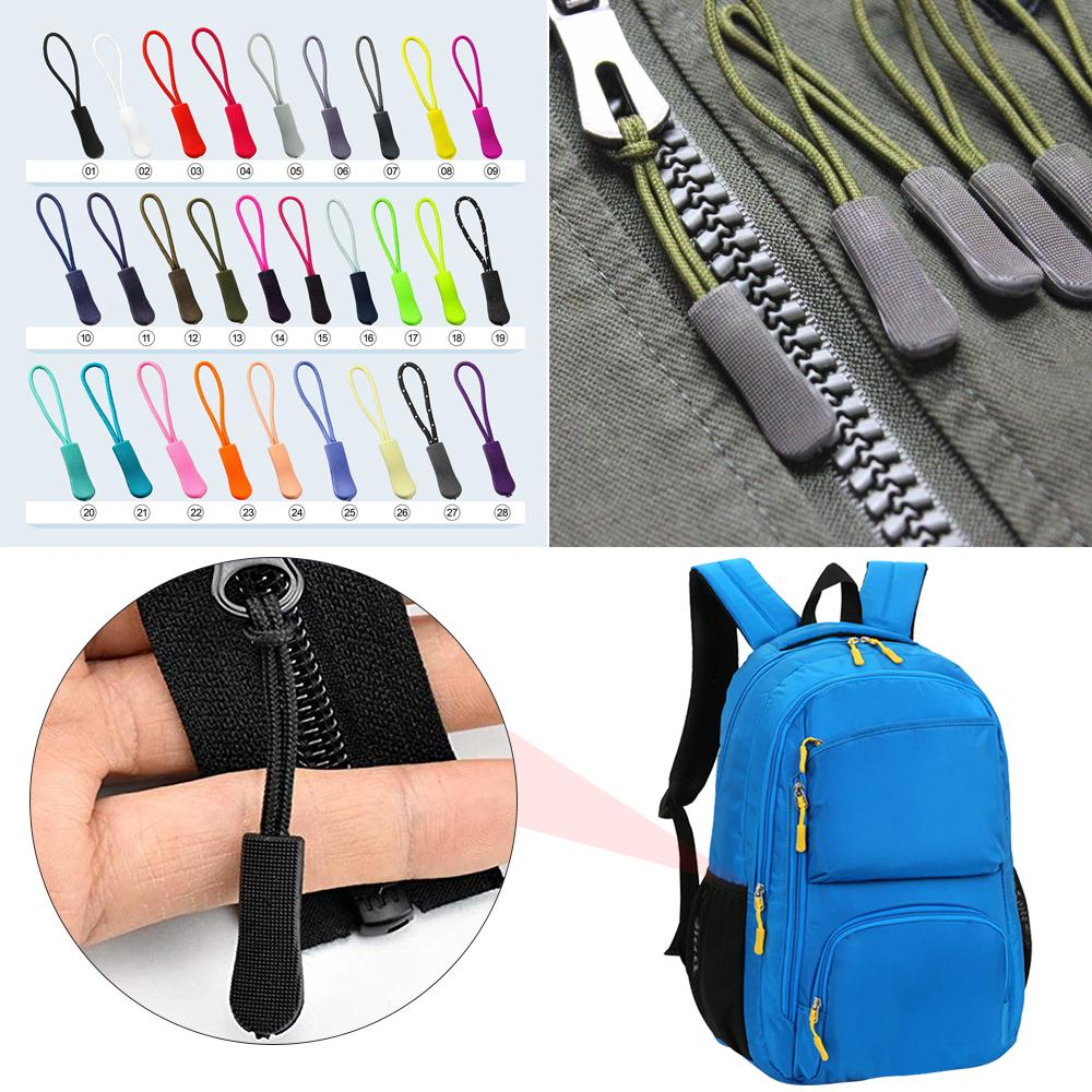 Suitcase 22 Pieces Zipper Pull Luggage Heavy Duty Zipper Tab Pull Replacement Zipper Fixer for Clothes DIY Craft Luggage Backpack