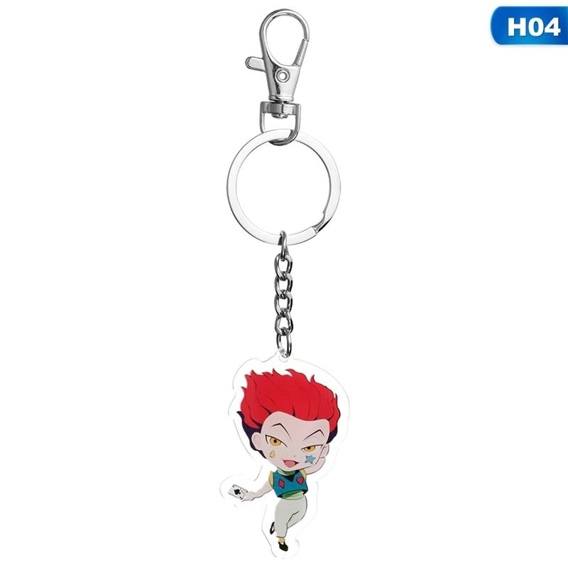 Hunter x Hunter Killua Zoldyck Cute Key Chain Keyrings Pendants Anime Keychain