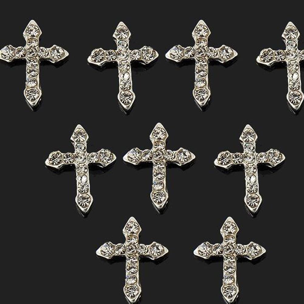 2016 der neuesten Mode 10 Pcs Frau elf Diamant Kreuz Patch Nagel ...