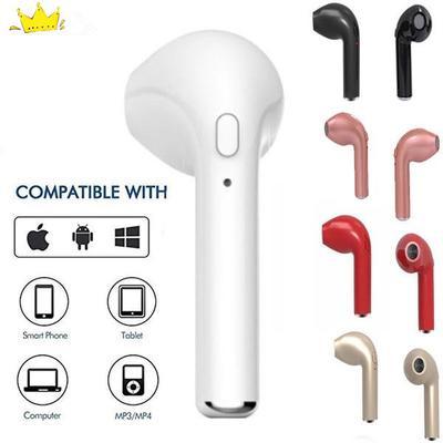 Bluetooth headset hbq i7s tws wireless earbuds mini