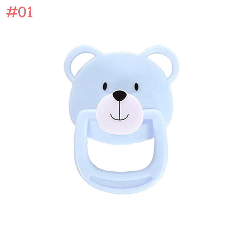 White Dummy Magnetic Pacifier For Reborn Baby Internal Magnet Dolls Accessories