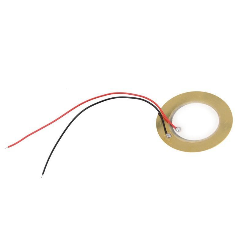 20mm Transducer Passive Piezo Sounder Sensor Disc Copper Aluminum DIY Buzzer