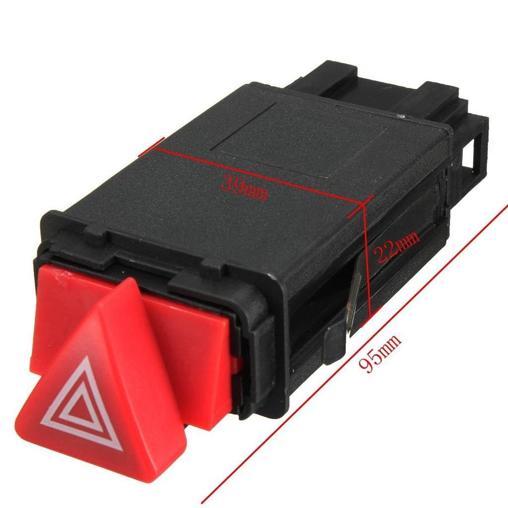 Gefahr Warnung Kontrollleuchte Schalter rote Taste 4B0941509D für ...