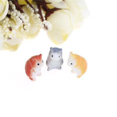 Cute Cat /& Duck Resin Garden Ornament Wall Planters Miniature Mini Fairy Flowerp