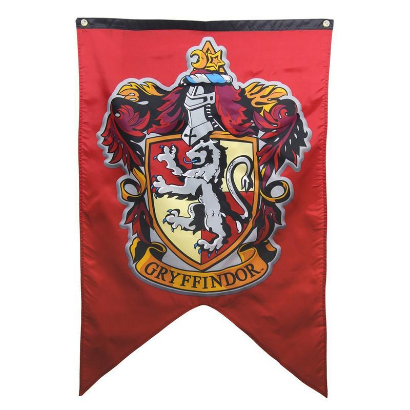 Harry Potter Magic Four Hogwarts Colleges Pattern House Banner Flag Decorative