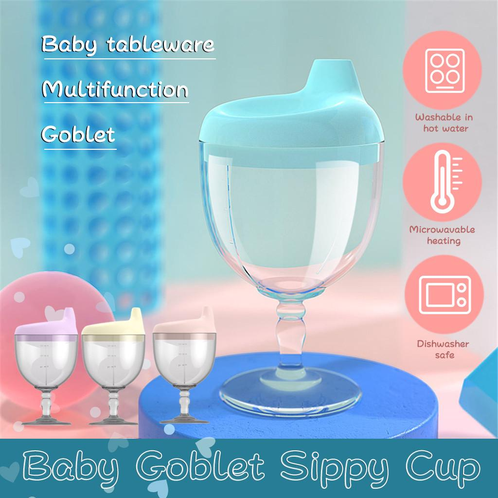New 150ML Baby Goblet Water Bottle Infant Sippy Cup For Feeding Baby  Training-buy