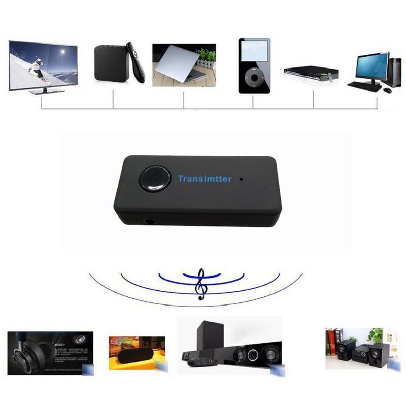 Funkadapter Tragbares Audio & Video Drahtlose Bluetooth Sender Empfänger Adapter Stereo Audio Musik Adapter 32-bit Laufen Zeit Konfigurierbar Audio Prozessor