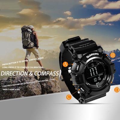 47368845a1d1 SmartE vida SUNROAD multifuncional hombres deporte al aire libre Reloj  Digital electrónico reloj en BeL