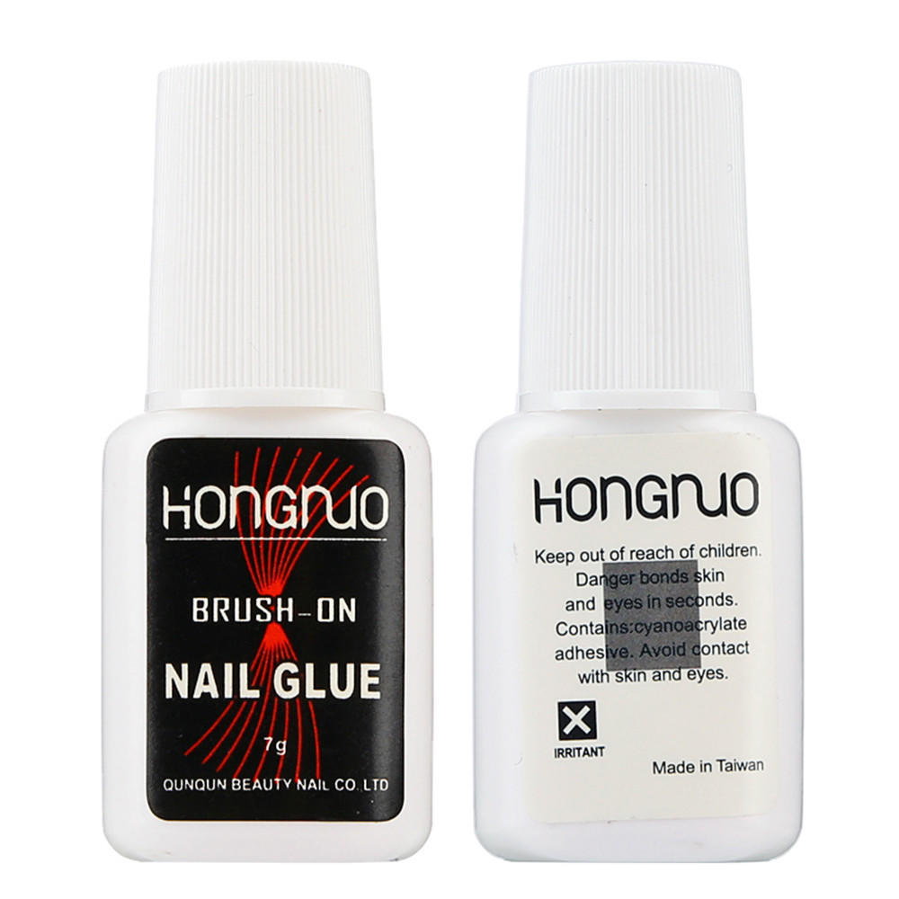 Pro Nail Art Glue for Foil Sticker Transfer Adhesive 7g Glue-buy at ...
