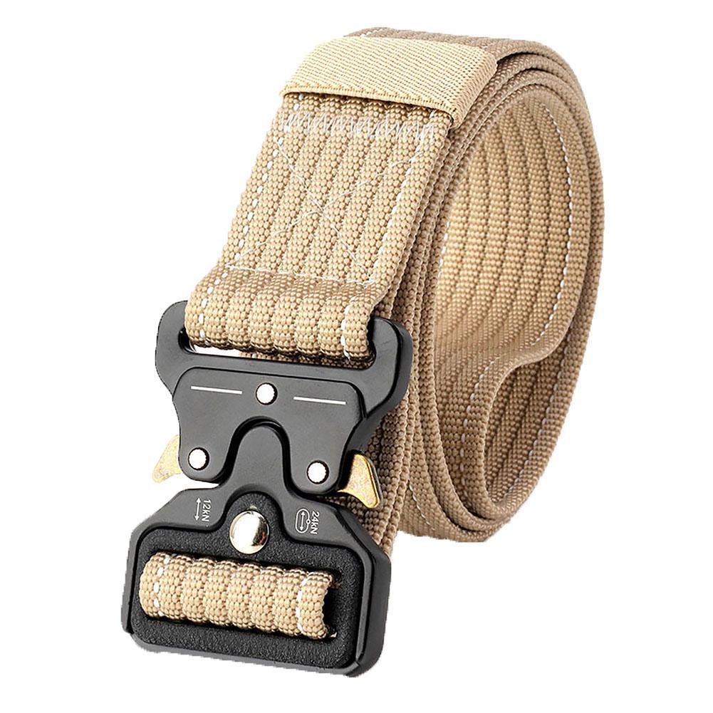 Men Belt Buckle Combat Waistband Tactical Rescue Rigger Tool Adjustable
