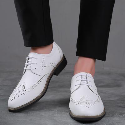Beautiful Large Size Leather Shoes Men