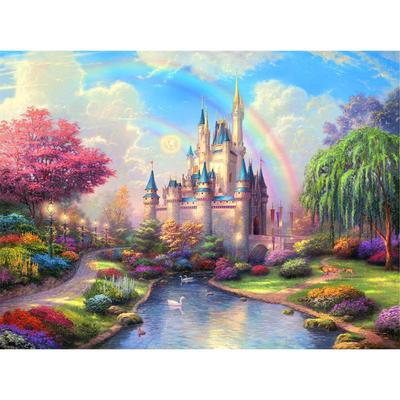 5D DIAMOND LANDSCAPE EMBROIDERY PAINTING CROSS STITCH CRAFT HOME DECOR Salable