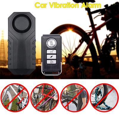 Wireless Anti-theft Cycling Bicycle Security Vibration Alarm Warner Alerter IP55