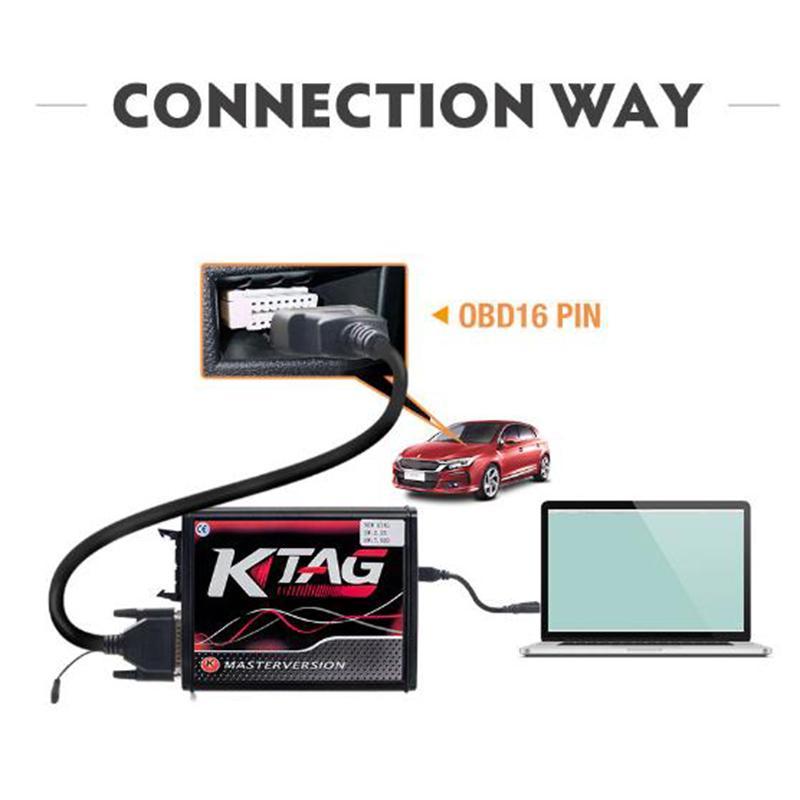 V2.23 KTAG ECU Programming Tool Прошивка с неограниченным токеном V7.020 Основная версия – купить по низким ценам в интернет-магазине Joom