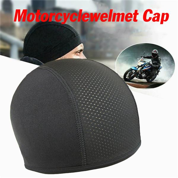 Quick-dry Cycling Skull Cap Helmet Liner Breathable Motorcycle Hat Head Scarf