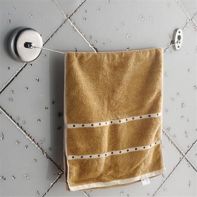 Stainless Reel Retractable Bathroom Washing Indoor Dryer Line Chrome Caravan