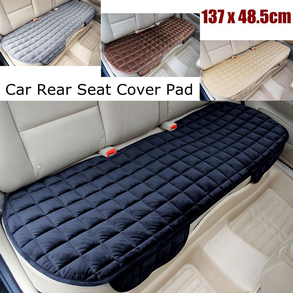 Front Car Seat Cushion Winter Plush Cushion Row Comfortable Mat Pad Warm