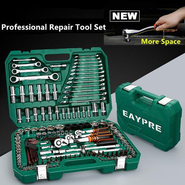 46pcs Socket Set Car Repair Tool Ratchet Spanner Wrench Socket Spanner Tool Kit