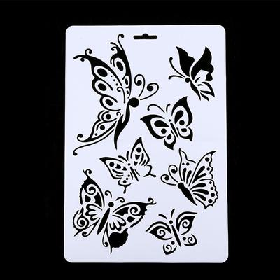 Creative Craft Butterfly Stencils Template DIY Painting Scrapbooking ...