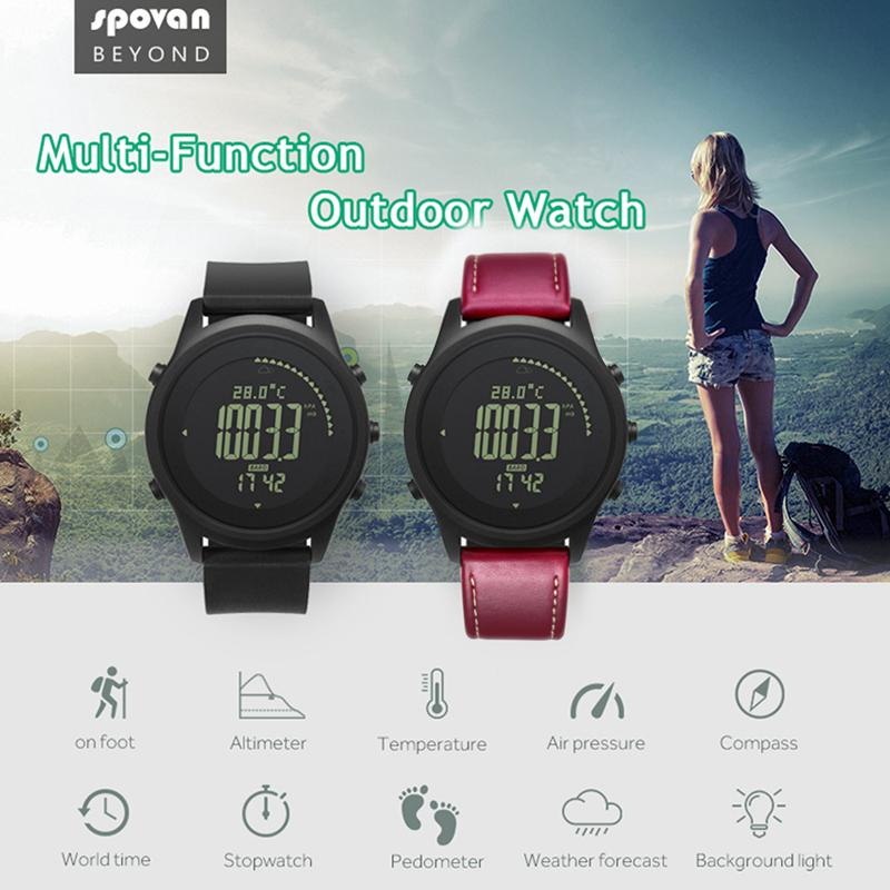 Men's Watches New Fashion Spovan Gemini Men Sport Watches Double Display Wristwatch Led Backlight 5atm Waterproof Multifunction Male Clock Elegant In Style