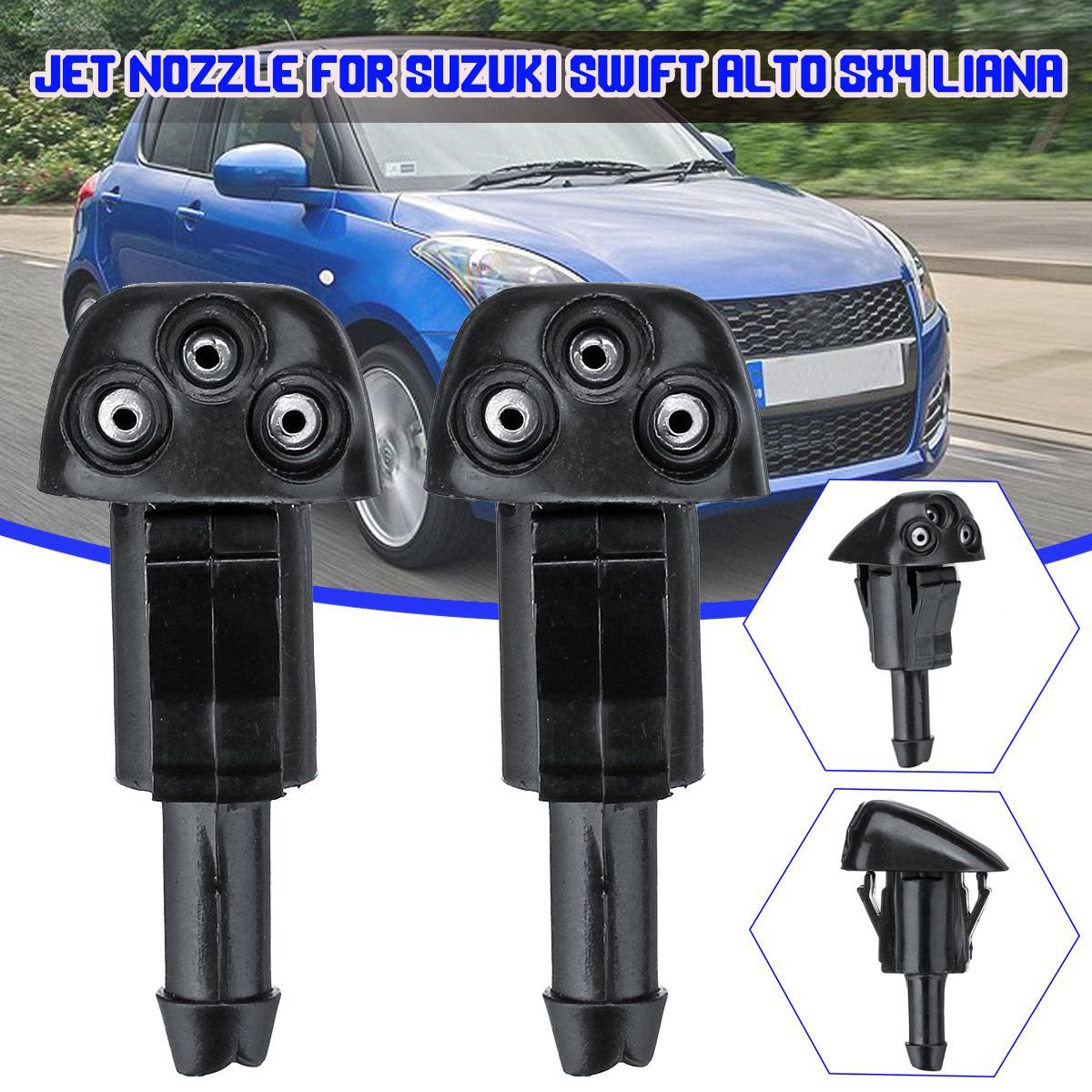 2pcs Windshield Wiper Water Spray Jet Сопло для Suzuki Swift Alto SX4 Лиана фото