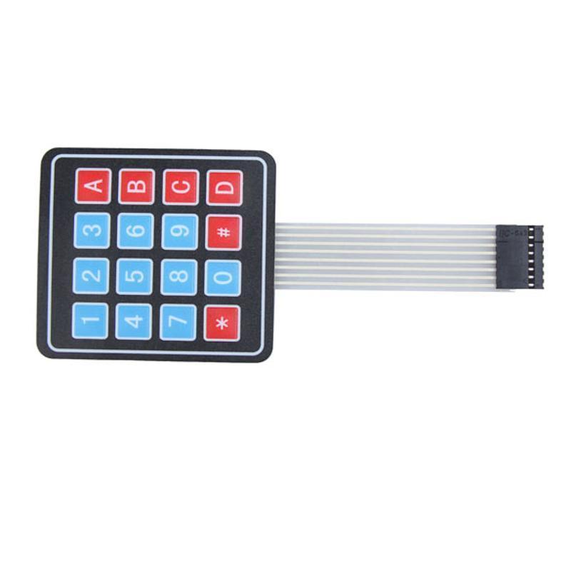 5 4 X 4 Matrix Array 16 clave Membrana De Teclado Teclado Para Arduino Avr