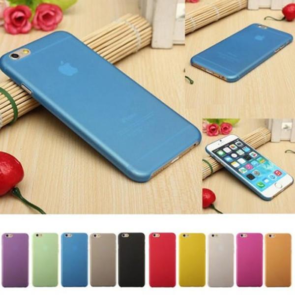 iphone6s手机壳 苹果6Splus手机壳4.7 超薄磨砂透明外壳保护套潮