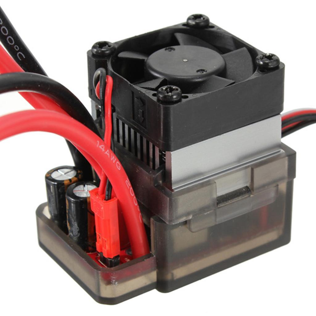 HSP 320A Brushed Speed Controller ESC f// 1//10 1//16 RC Car Truck Buggy Boat Model