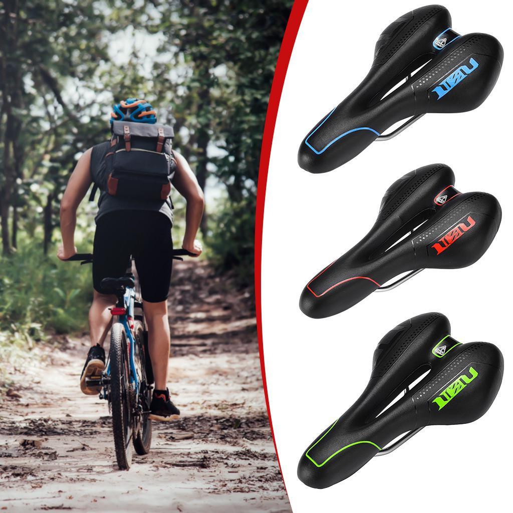 MTB Bicycle Gel Comfort Saddle Bike Road Mountain Cycling Seat Soft Cushion Pad