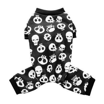 Skull Dog Vest Autumn Winter Clothes For Small Pet Coat Jacket