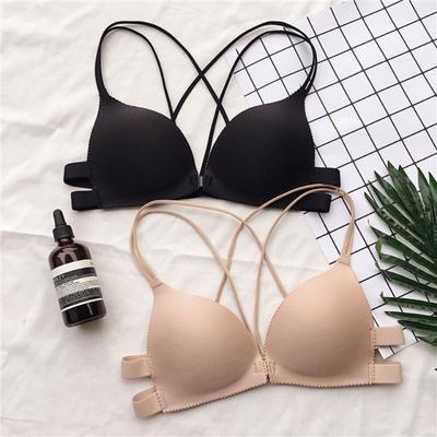 Women Backless Push Up Bra Padded Underwire Lingerie Underwear Strapless Bras