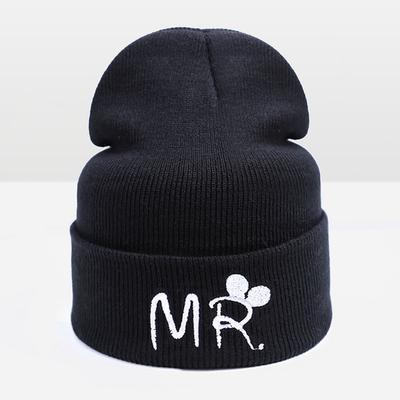 Sombrero de invierno para niños niña niño hermosa historieta de los  cabritos CapSkullies gorros tejidos invierno a4a82f2cca0