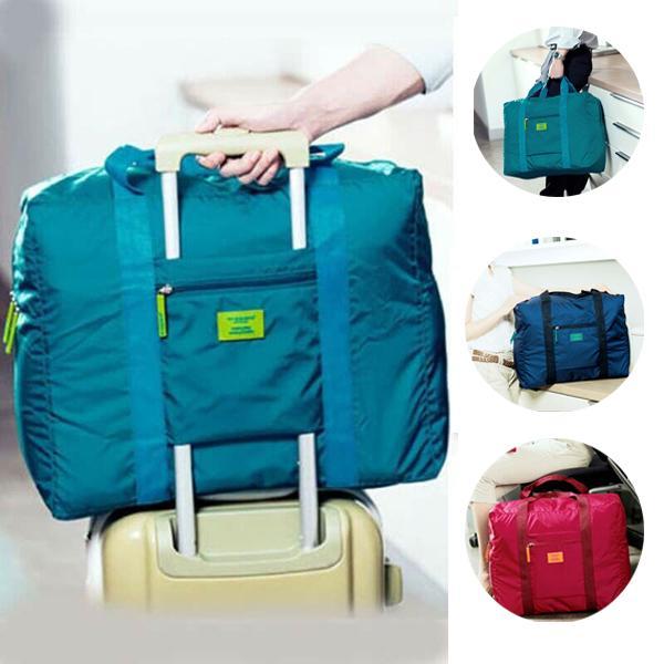 Портативный складной багаж багажа хранения Carry-On Duffle мешок