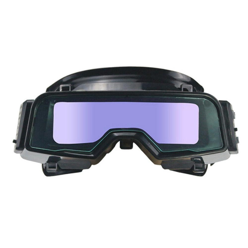 Solar Auto Darkening Welding Helmet Visor Lens LCD Welder Cover Grinding Goggles