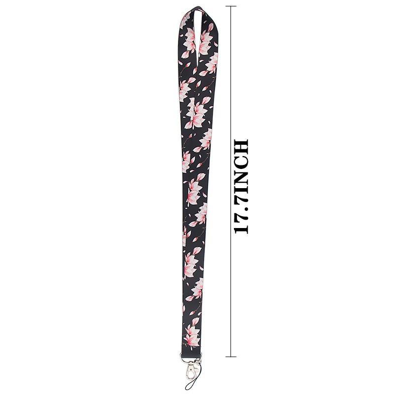 Unisex Beige Sewn Soft Carabiner Handmade Pink /& White geometrical lanyard Keys Key holder Badge wear Lines Keychain Sewn Cotton