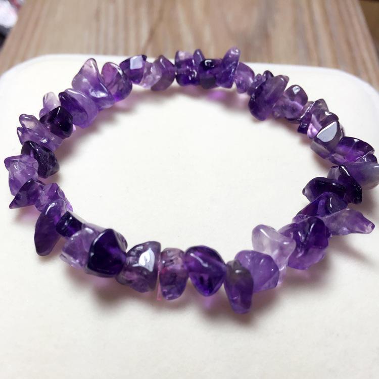 Handmade Natural Crystal Bracelet for Women Size Adjustable Rose Quartz Jewelry for Ladies