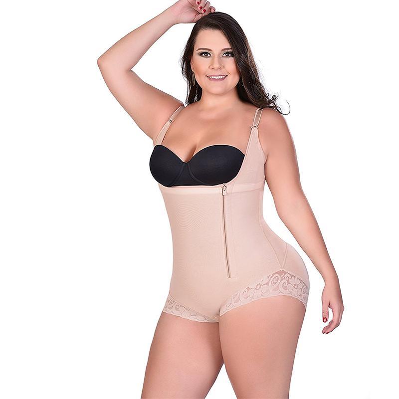S-3XL Black Body Shapewear Tummy Control Shaping Bodysuit Butt Lifter Corset New
