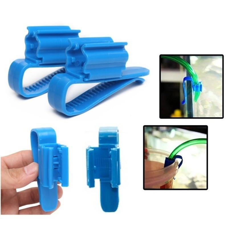 10x Home Brew Syphon Tube Clip Pipe Hose Flow Control Wine Making Clamp HoldCAI