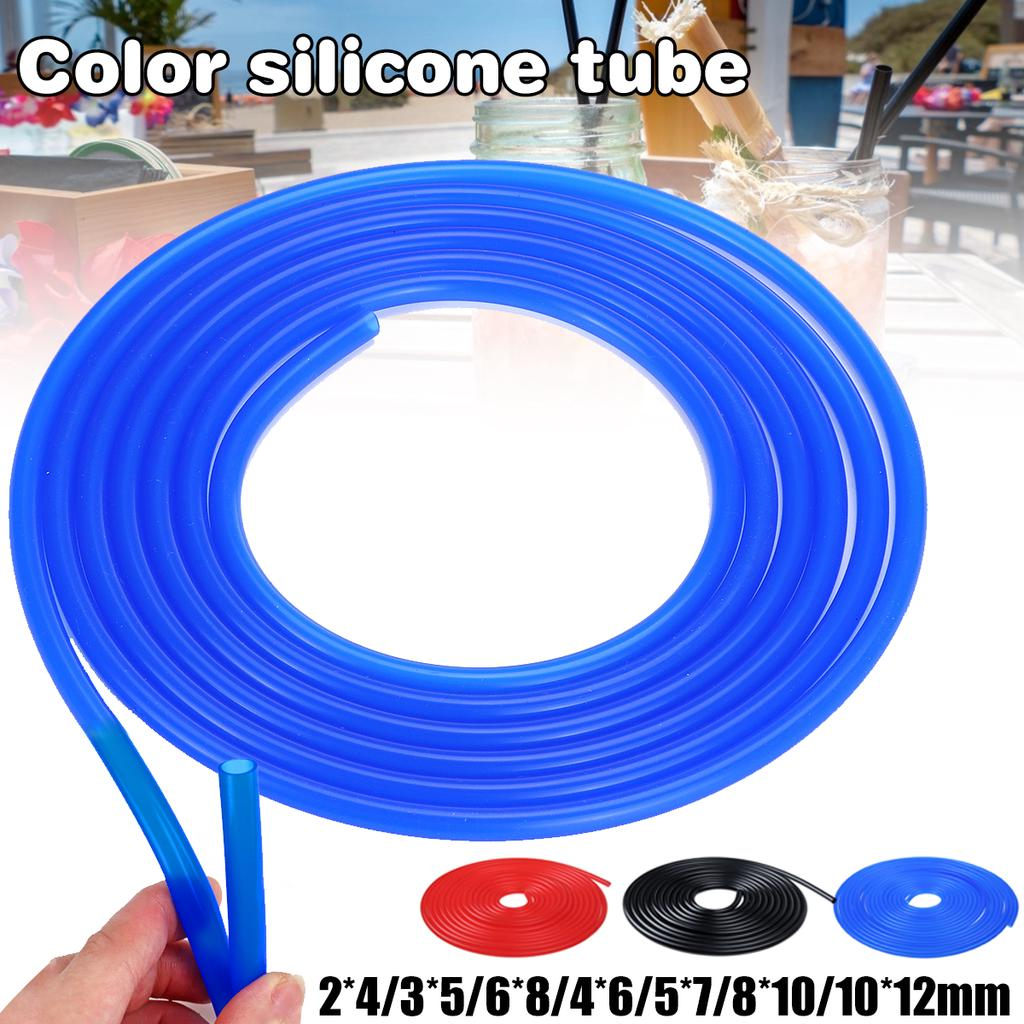 Food Grade Flexible Tube Plumbing Hoses Beer Milk Pipe Silicone Rubber Hose