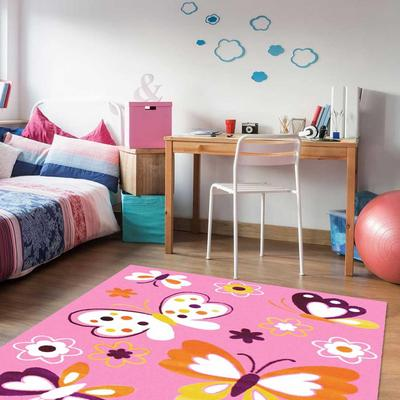 Children S Rug 80x150 Cm Rectangular Bambino Princesse Pink Room Suitable For Underfloor Heating Buy At A Low Prices On Joom E Commerce Platform