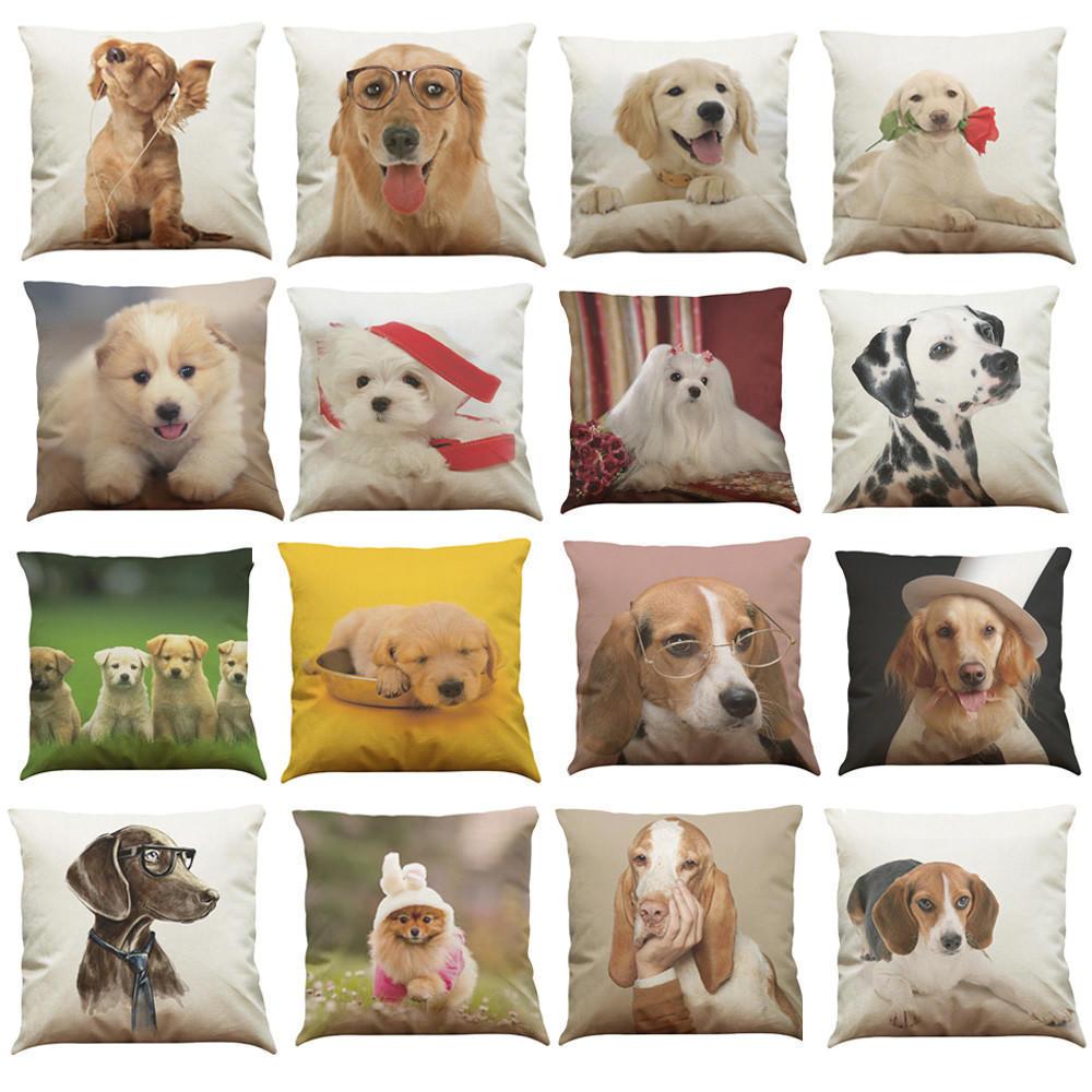 Halo hound cushion cover