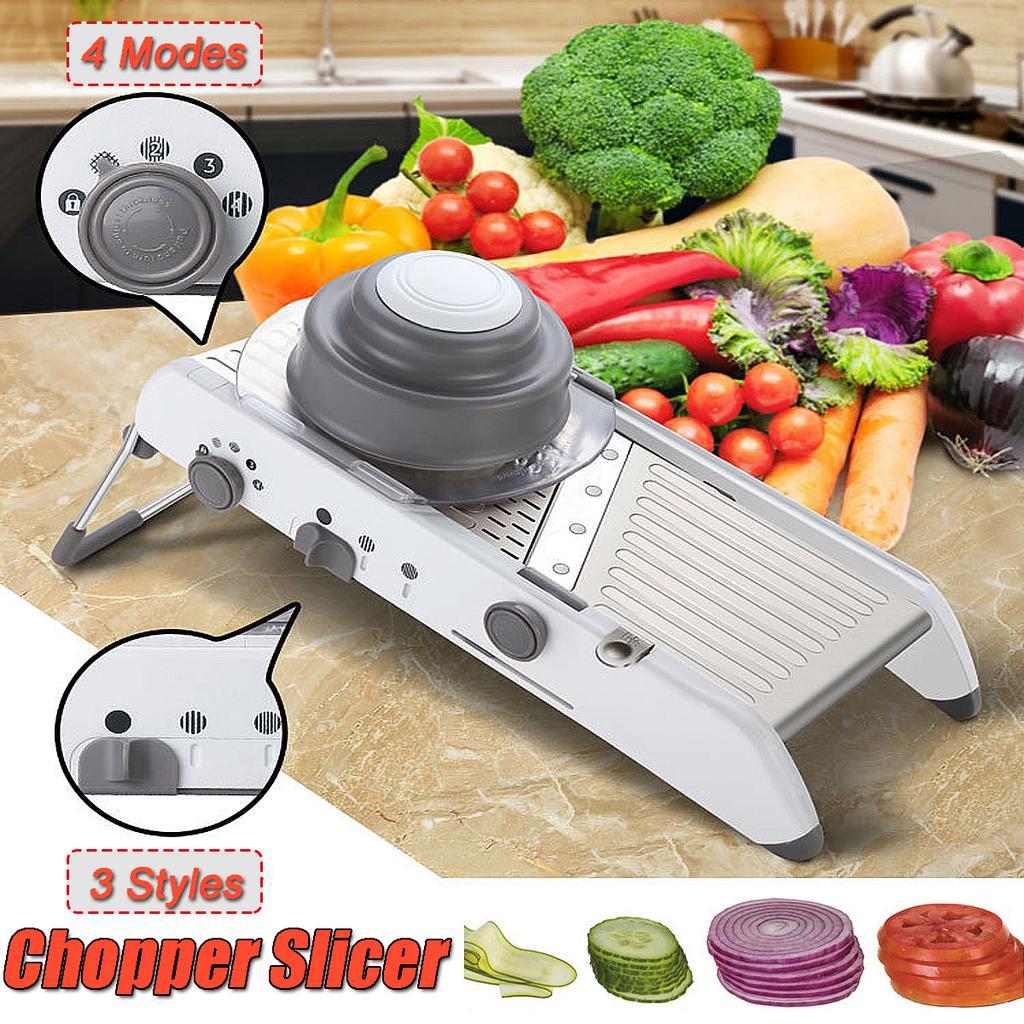 Slicer Gemüseschneider Kartoffel Zwiebel Karotten Reibe Chopper Küchenzubehör
